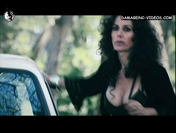 Argentina actress Viviana Saccone big tits cleavage
