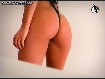Pampita ass in g-string